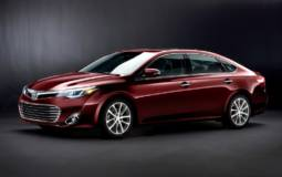2013 Toyota Avalon Unveiled