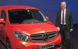 2014 Mercedes Citan Van Unveiled