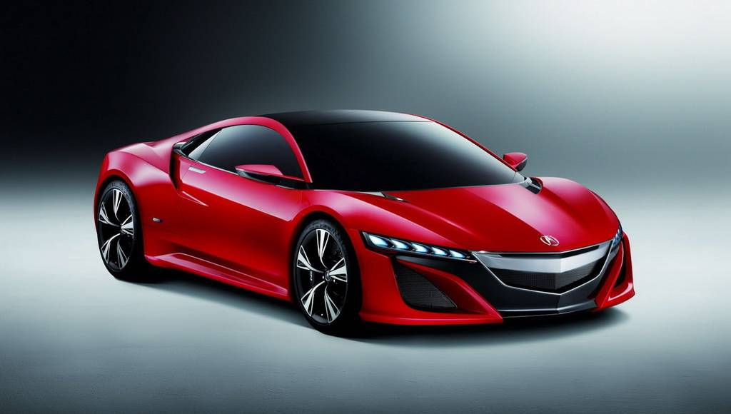 Acura NSX Concept in Red