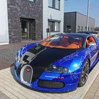Bugatti Veyron Sang Noir Wrapping from Cam Shaft