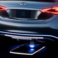 Infiniti LE Pure-Electric Concept Previewed Ahead of NY Debut