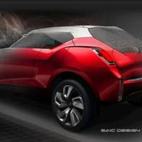 MG Icon SUV Sketches
