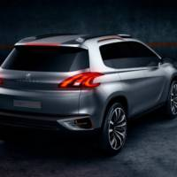 Peugeot Urban Crossover Concept Arrives in Beijing