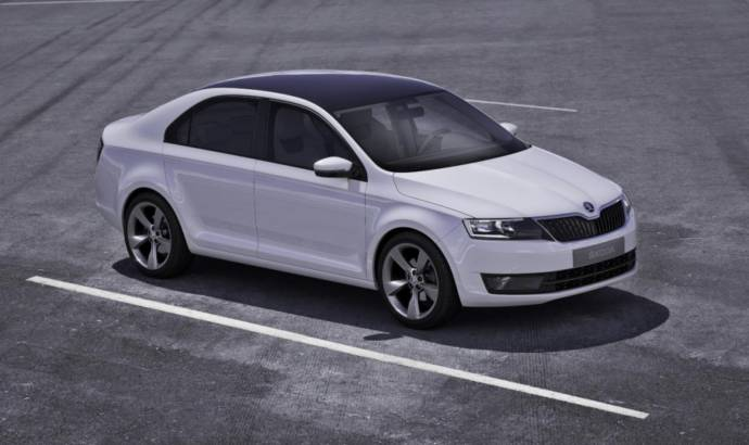 Production Version Skoda Mission L Will Be Called Rapid