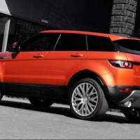 Range Rover Evoque Vesuvius by Kahn Design
