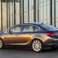 2013 Opel Astra Sedan Unveiled