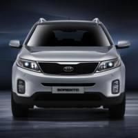 2014 Kia Sorento Facelift Revealed