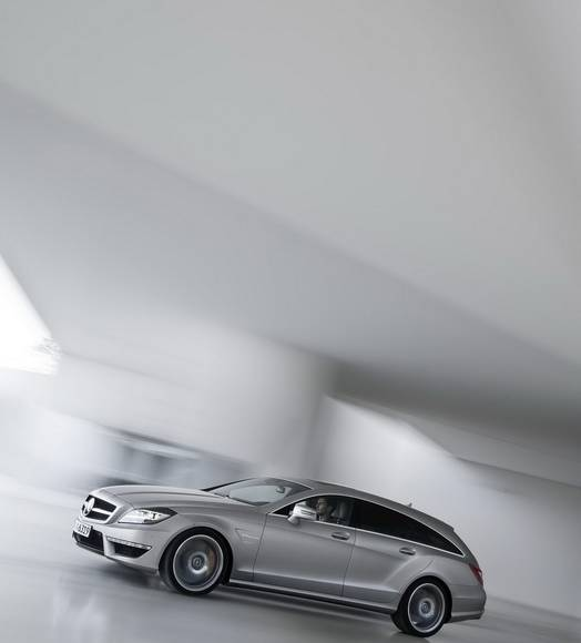Mercedes CLS 63 AMG Shooting Brake - Photos and Details