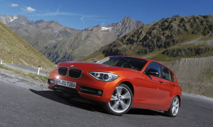 2012 BMW 1 Series xDrive, first appearance in Paris Motor Show