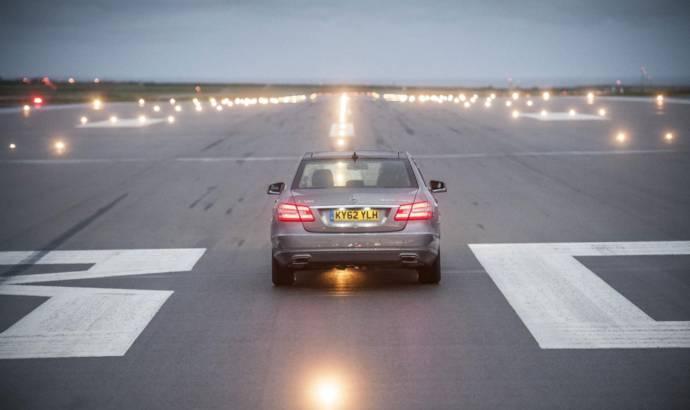 2012 Mercedes E300 Bluetec Hybrid - 1770 kilometers on one tank of fuel