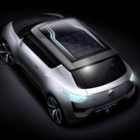 2012 Ssangyong e-XIV - first sketches of a future electric crossover