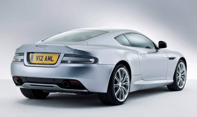 2013 Aston Martin DB9, facelifted for Paris Motor Show