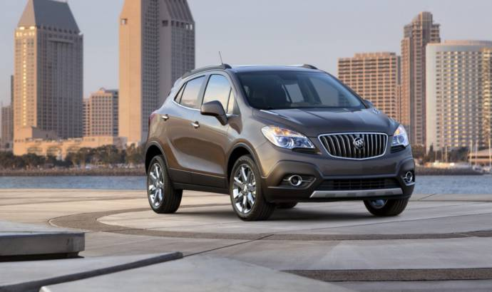2013 Buick Encore - priced from $24.950 in the US