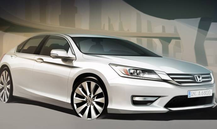 2013 Honda Accord - first sketches for the european version