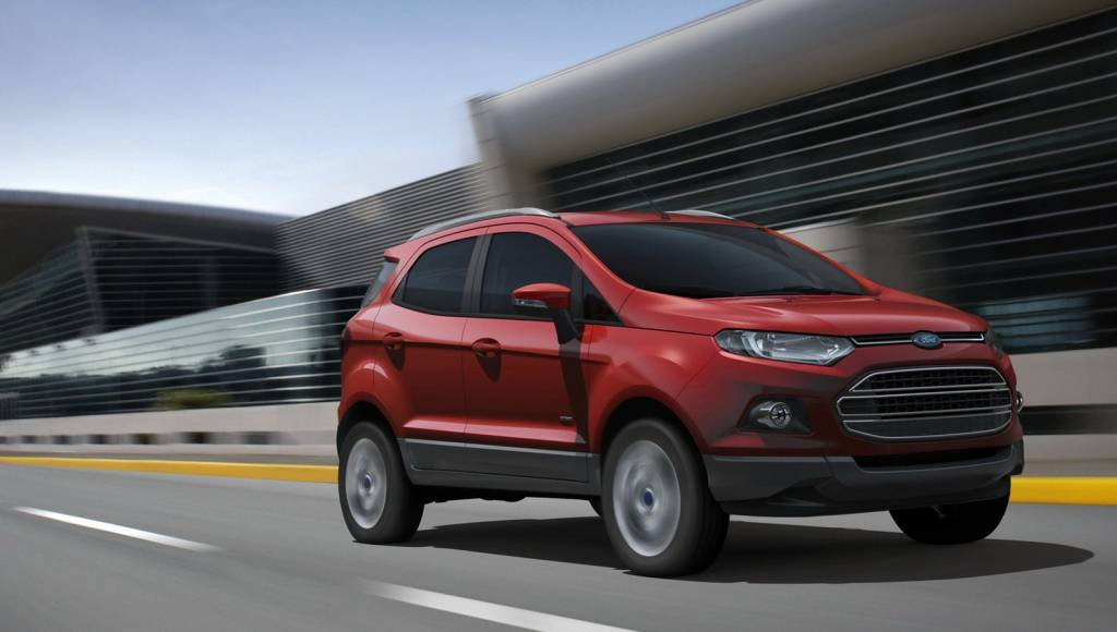 2013 Kuga, Edge and Ecosport to expand Ford's european line-up