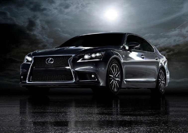 2013 Lexus LS 600h F-Sport and a future concept
