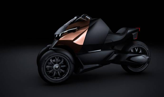 2013 Peugeot Onyx Concept Scooter to debut in Paris along matching supercar