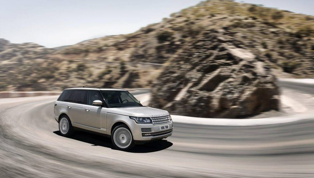 2013 Range Rover, priced from $83.500 in the US