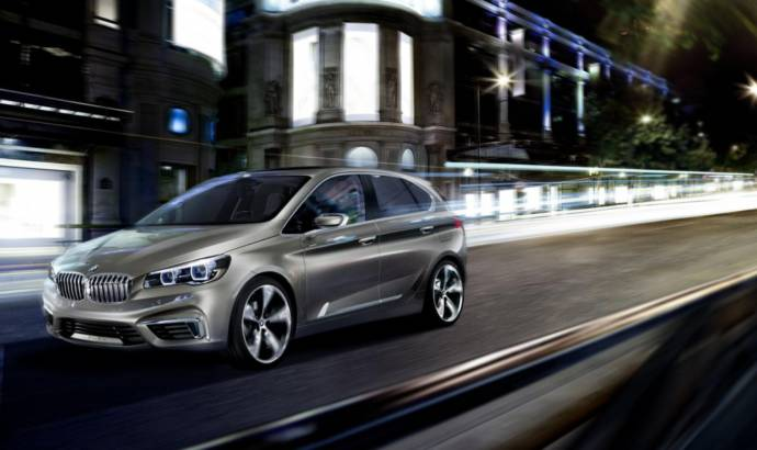 3xVIDEO: 2013 BMW Concept Active Tourer
