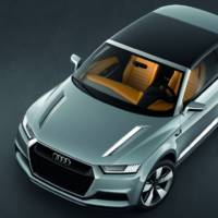 Audi Crosslane Coupe Concept unveiled in Paris