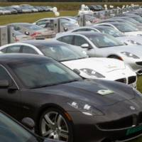Fisker sets two electric vehicle world records