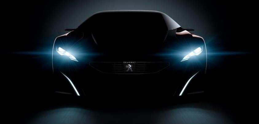 Peugeot teases Onyx hybrid supercar Concept (Video)