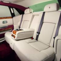 Rolls Royce Ghost Qatar Edition - one-off bespoked limousine