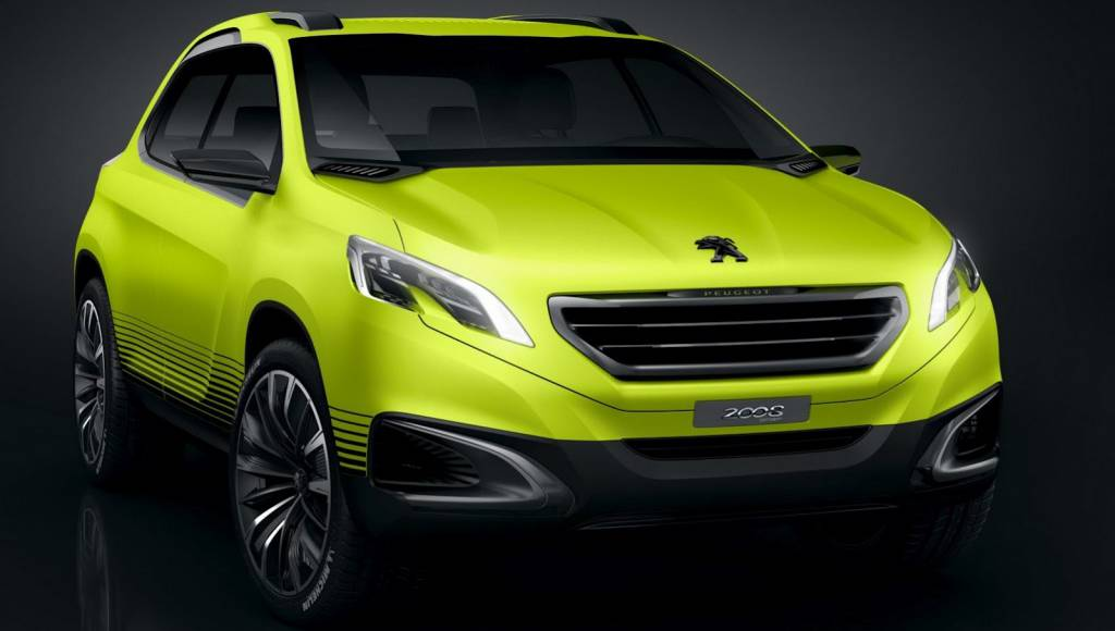 Say Hello to the upcoming Peugeot 2008 Concept
