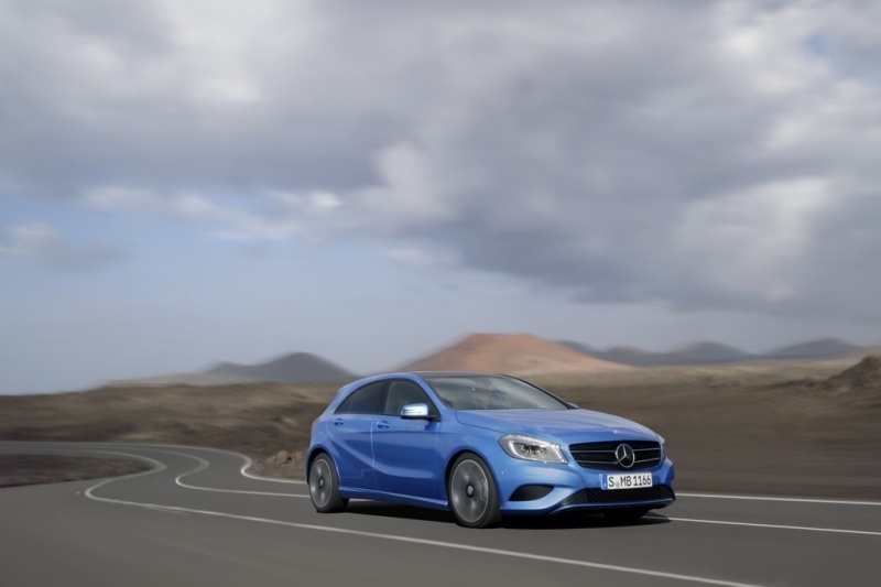 Video: Nico Rosberg stars in new Mercedes-Benz A Class ad