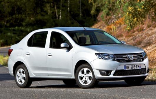 2013 Dacia Logan and Dacia Sandero - leaked photos