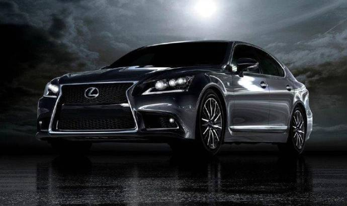 2013 Lexus LS 600h F-Sport and a future concept