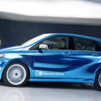 2013 Mercedes B-Class Electric Drive Concept - official details