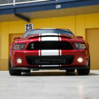 2013 Shelby GT500 Super Snake - 862 horsepower package