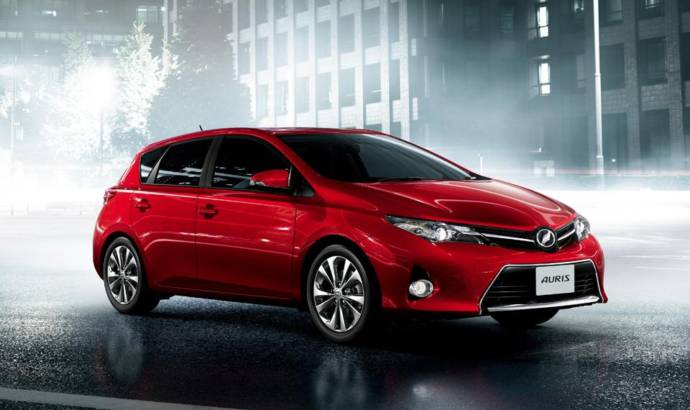 2013 Toyota Auris will cost 14.495 pounds in the UK