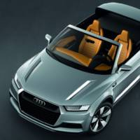 Audi Crosslane Coupe Concept unveiled in Paris