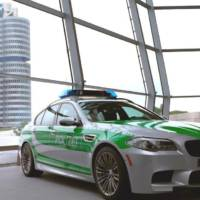 BMW M5 police car - the new Autobahn enforcer