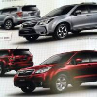 First images with the 2014 Subaru Forester