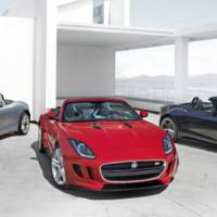 First photo with the 2013 Jaguar F-Type