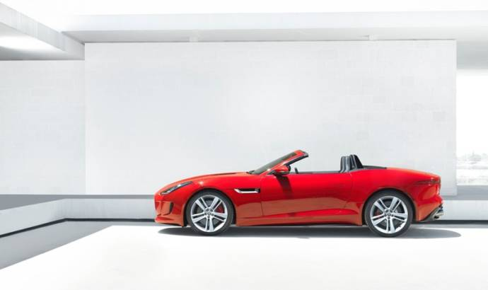 Leaked: Official photos of the 2013 Jaguar F-Type