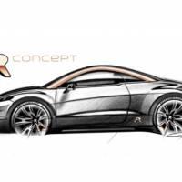 Peugeot RCZ-R Concept will smash the audience at Paris