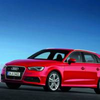 This is the 2013 Audi A3 Sportback