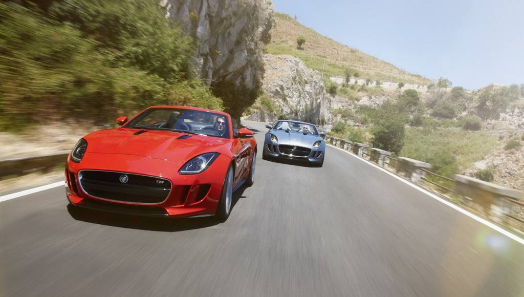 2013 Jaguar F-Type, priced from $69.000 in the US and 58.500 pounds in the UK