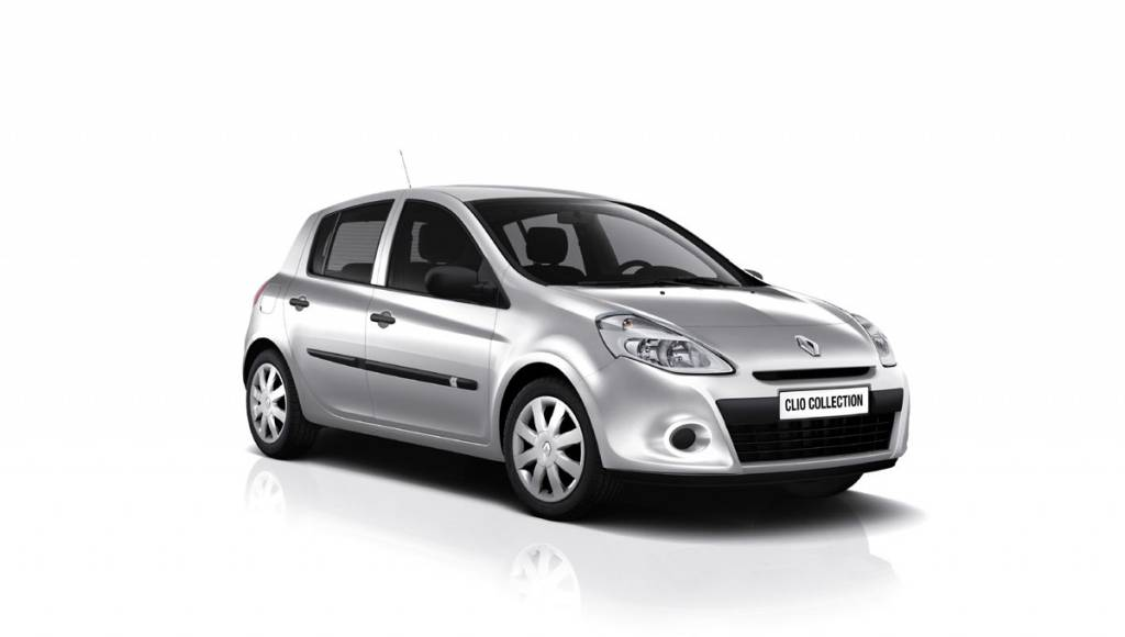 2013 Renault Clio Collection is in fact the old Clio, but more affordable