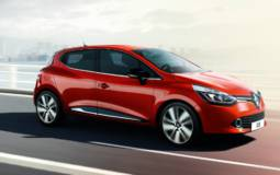 2013 Renault Clio, priced from 10.595 pounds in the UK