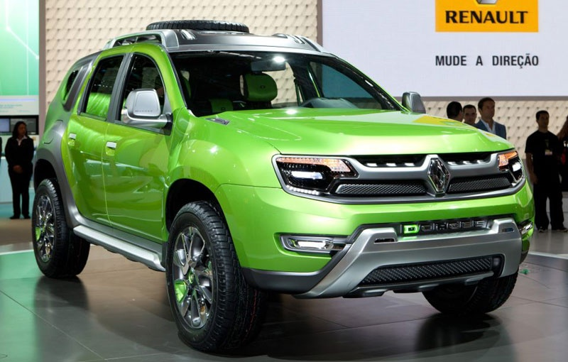 2013 Renault DCross - live details from Sao Paolo