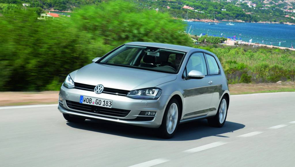 2013 Volkswagen Golf 7 will get three new engines and 4Motion