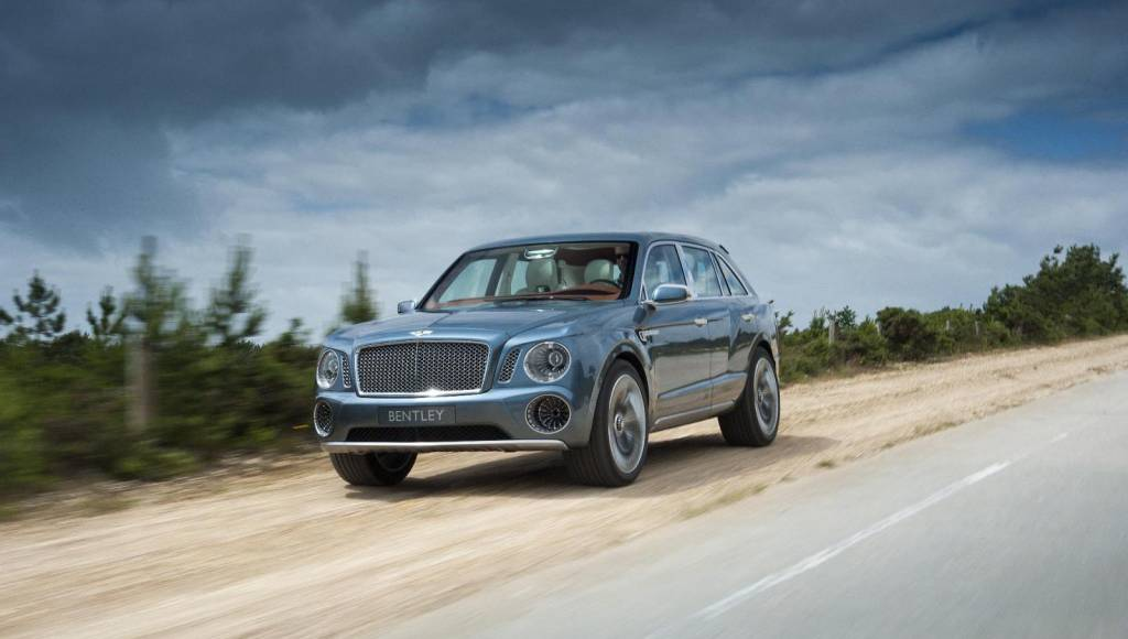 Bentley SUV Concept will see a redesigned version this year