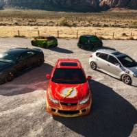 Justice League of superhero cars made by Kia landed at the SEMA Show
