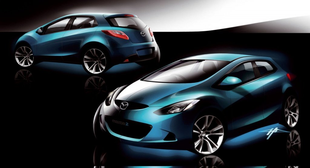 Mazda1 could be a future rival for the current Volkswagen Up!