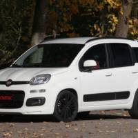 Novitec Rosso Fiat Panda is one mean little car